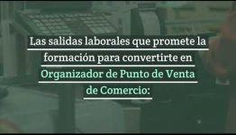 ASIGNATURAS Y SALIDAS LABORALES DEL CURSO A DISTANCIA DE ORGANIZADOR DE PUNTO DE VENTA DE COMERCIO: VÍDEO INFORMATIVO