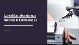 ASIGNATURAS Y SALIDAS LABORALES DE LA FORMACIÓN AUTOMATISMO CON CONTROL PROGRAMABLE: VÍDEO INFORMATIVO